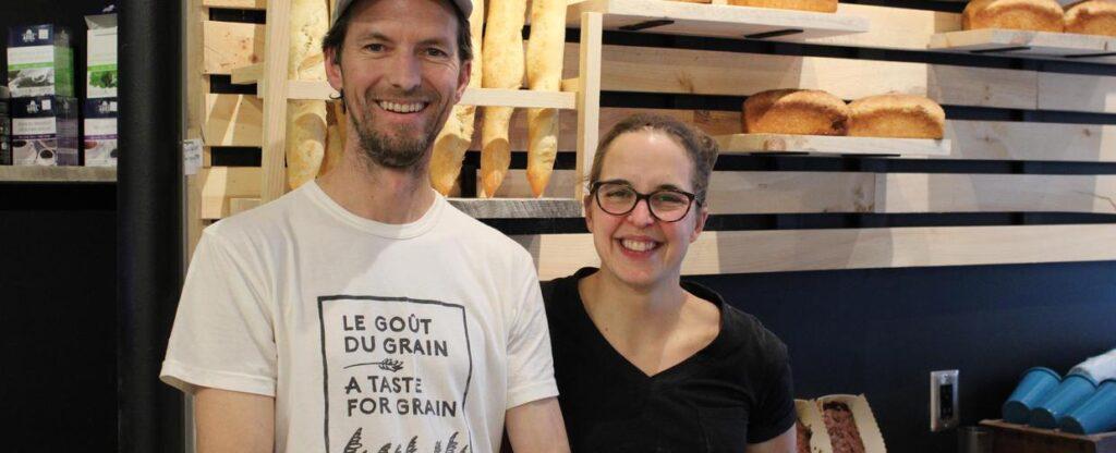 Image des propriétaires de la boulangerie La Réserve.